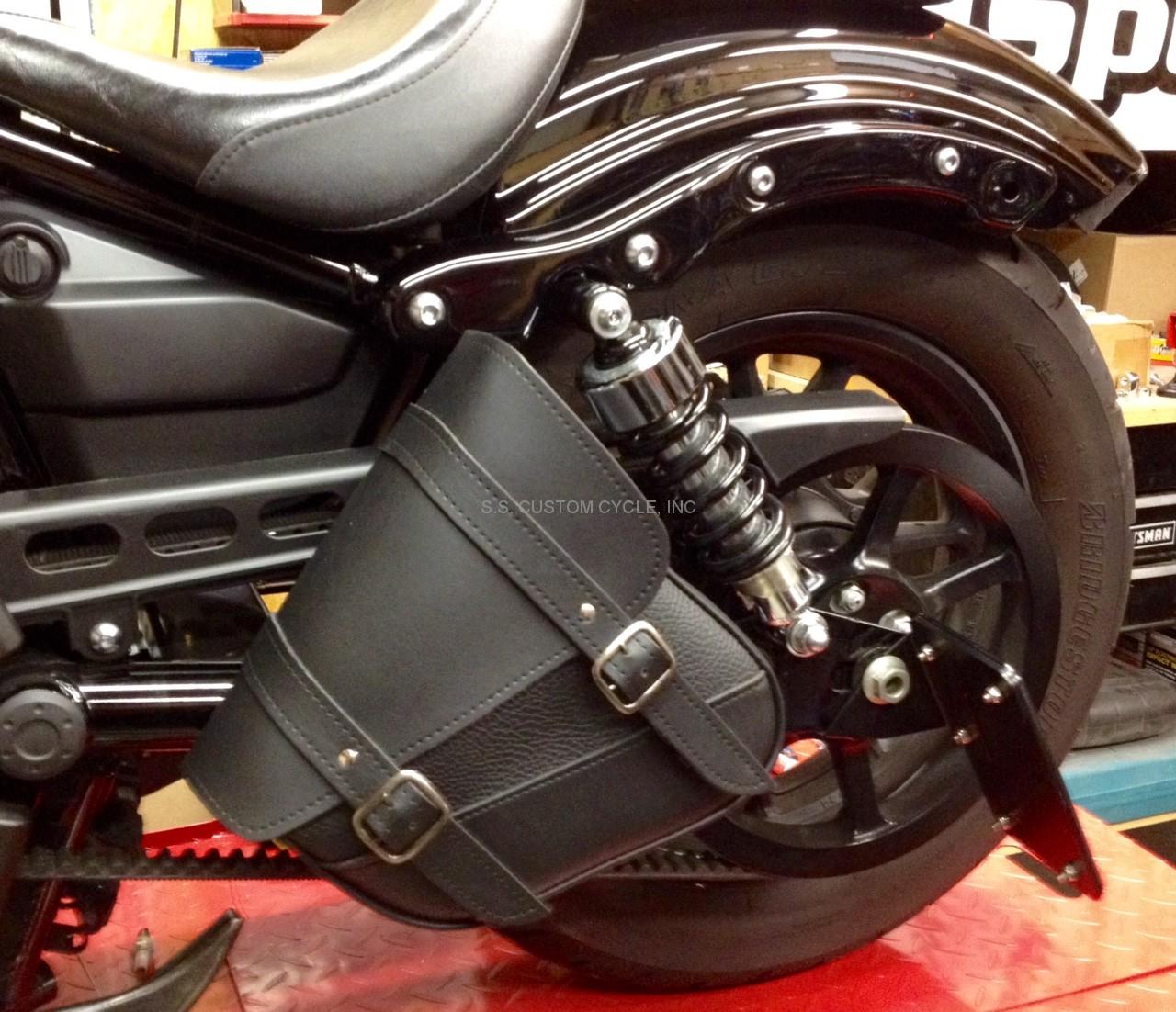 Single Side Swingarm Bag For Yamaha Bolt Ss Custom Cycle