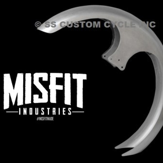 MISFIT INDUSTRIES STREAMLINE STEEL FRONT FENDER