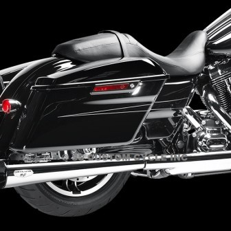 MAGNAFLOW-TOURING-MEGACONE SLIP-ON-MUFFLERS-CHROME-1