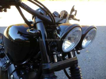 Front Mounted Blackout Bullet Turn Signals
