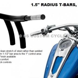 1.5 Radius T-Bars