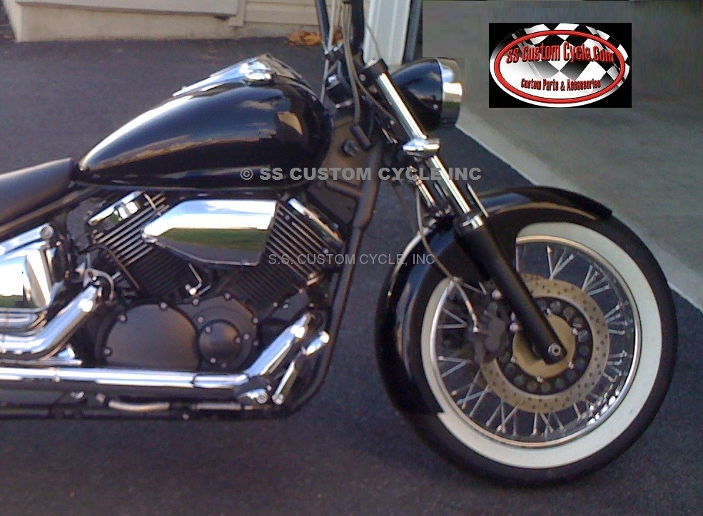 Hugger Style Front Fenders For Yamaha - SS Custom Cycle
