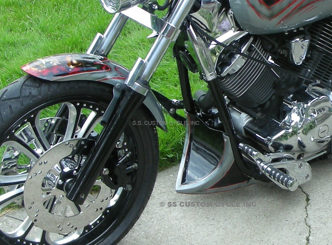 Honda VTX1800 Custon Chin Scoop