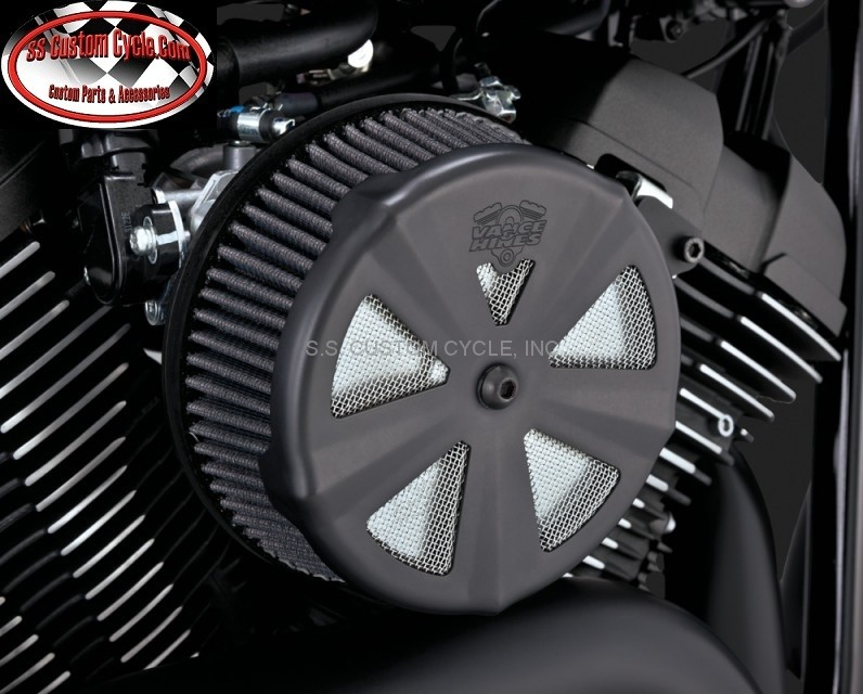 Skull Air Cleaner Cover : Skull cap air cleaner covers ss custom cycle