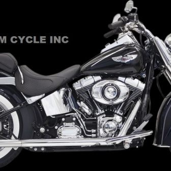 Bassani True Duals with Fishtail Mufflers 1800-1736