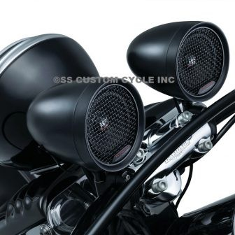 PN#2711 - Road Thunder Speaker Pods by MTX, Satin Black-2