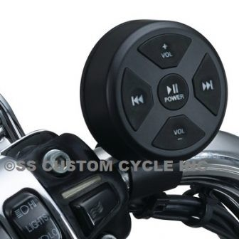 Road Thunder Bluetooth Audio Controller by MTX, Satin Black
