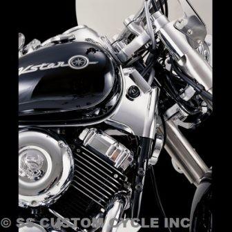 Show Chrome Neck Covers 63-604