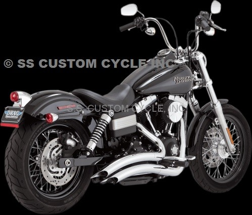 VANCE & HINES BIG RADIUS FOR 06 - 17 DYNA GLIDE MODELS