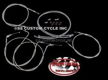 Stainless Cable/Brake Line Kits