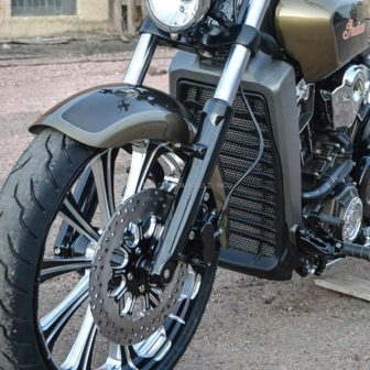RADIATOR GUARD FOR INDIAN SCOUT 1904-0092