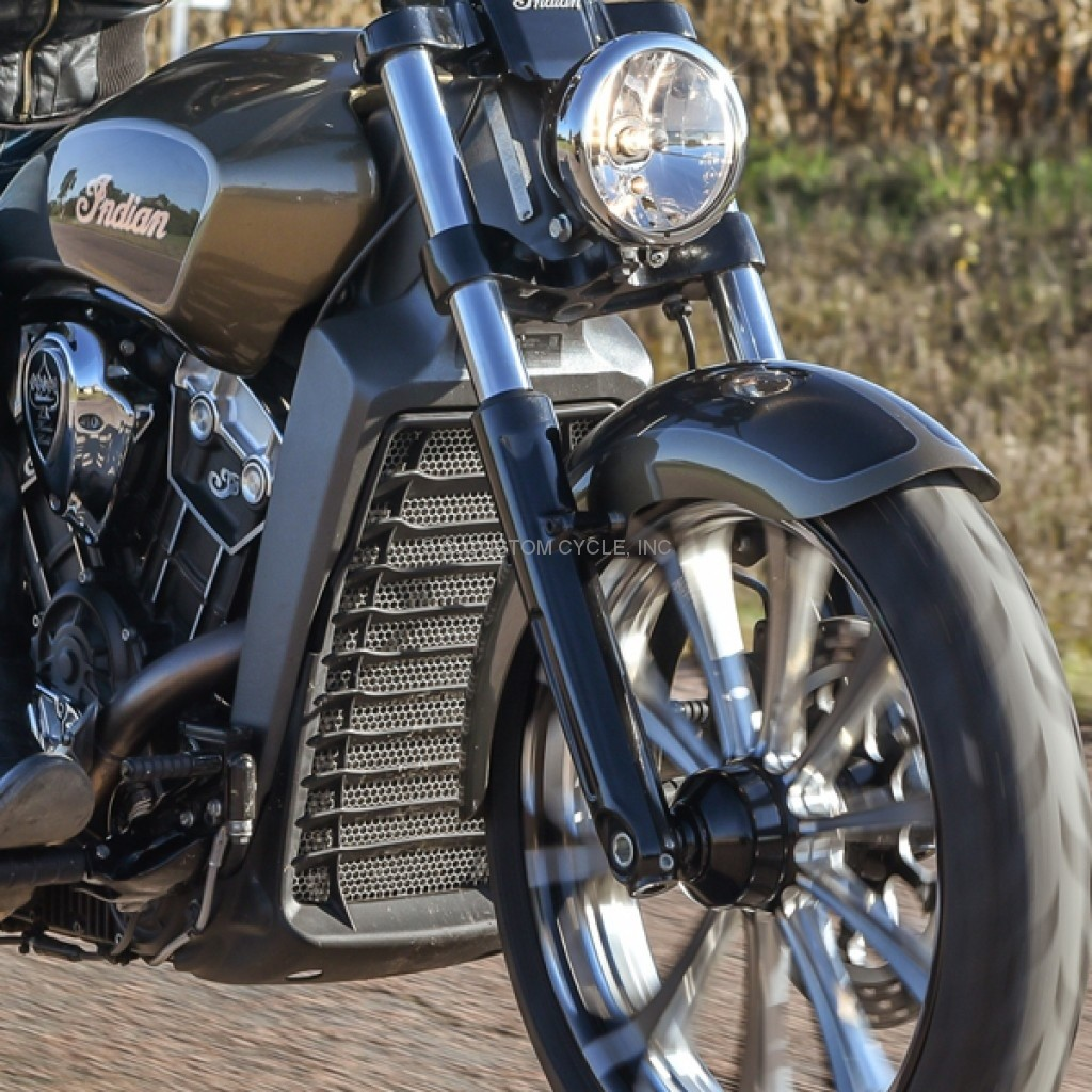 Outrider Front Fender For Indian Scout on Custom Road Star Warrior