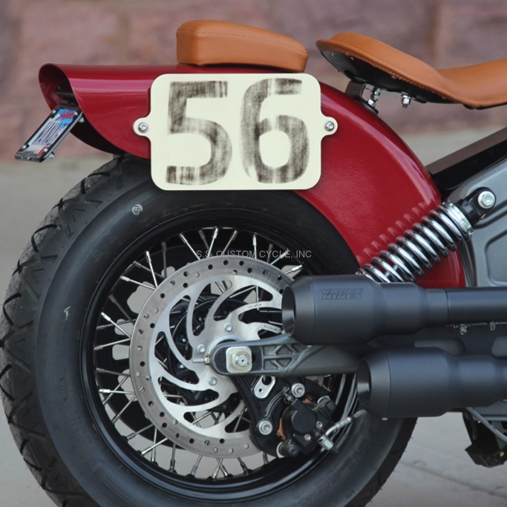 OUTRIDER REAR FENDER FOR INDIAN SCOUT - SS Custom Cycle