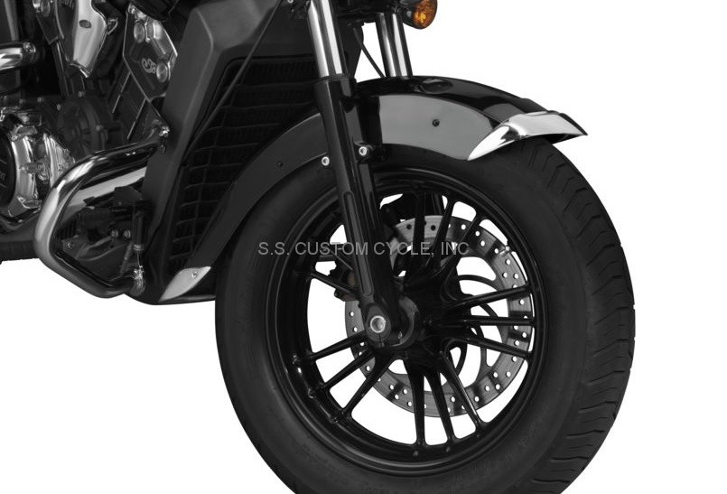 National Cycle Fender Tips Indian Scout - SS Custom Cycle