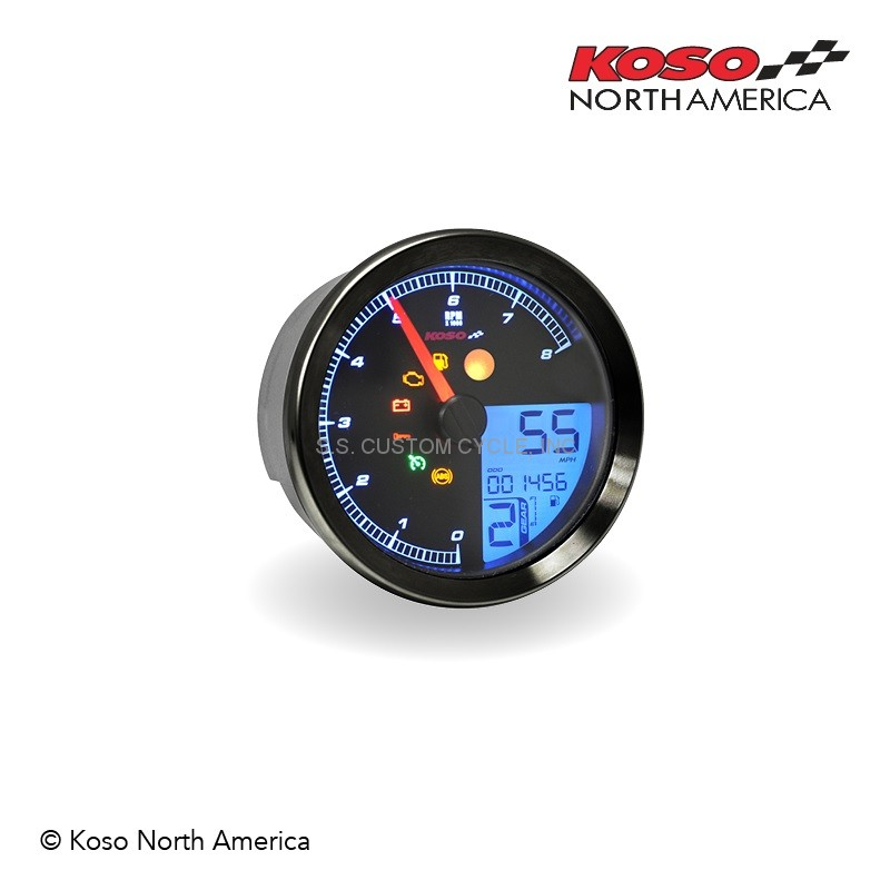 koso tnt b meter for yamaha bolt ss custom cycle