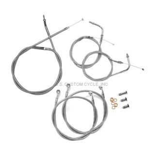 Stainless Cable Brake Line Kits