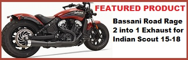 Bassani Road Rage Indian Scout
