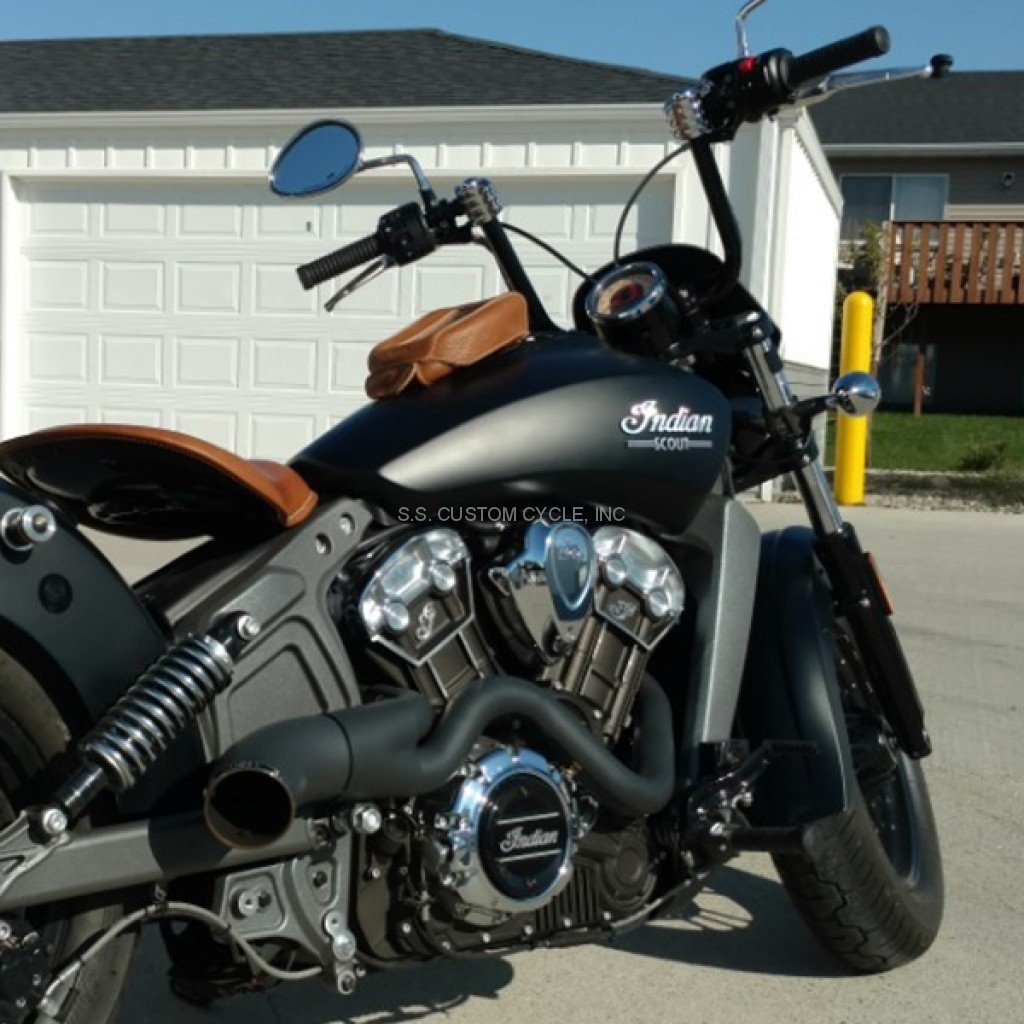 "Honda Vtx 1800 For Sale >> 1"" KlipHanger Handlebar for Indian Scout - SS Custom Cycle"