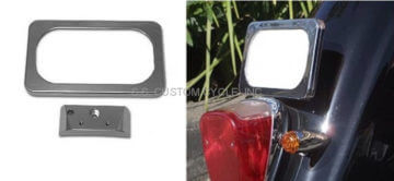 LAYDOWN LICENSE PLATE MOUNT