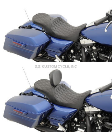 Low-profile Touring seats