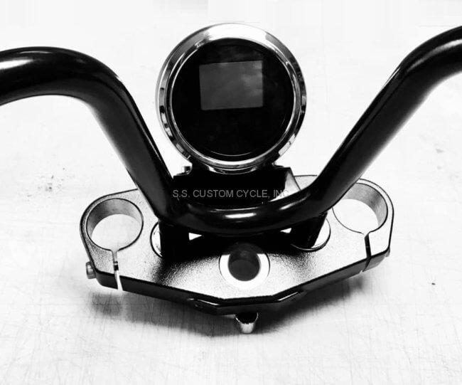Speedometer relocation bracket