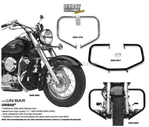 UNIBAR ENGINE GUARDS YAMAHA