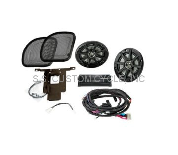 Kicker Fairing Speaker & Amplifier Kits
