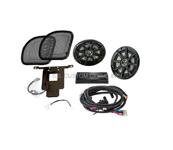 Kicker Fairing Speaker & Amplifier Kits