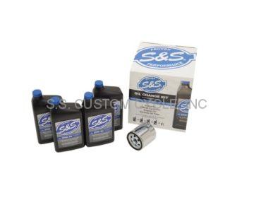 S&S CYCLE Oil Change Kits