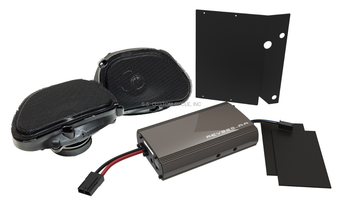 Rev Series Amplified Speaker Kit