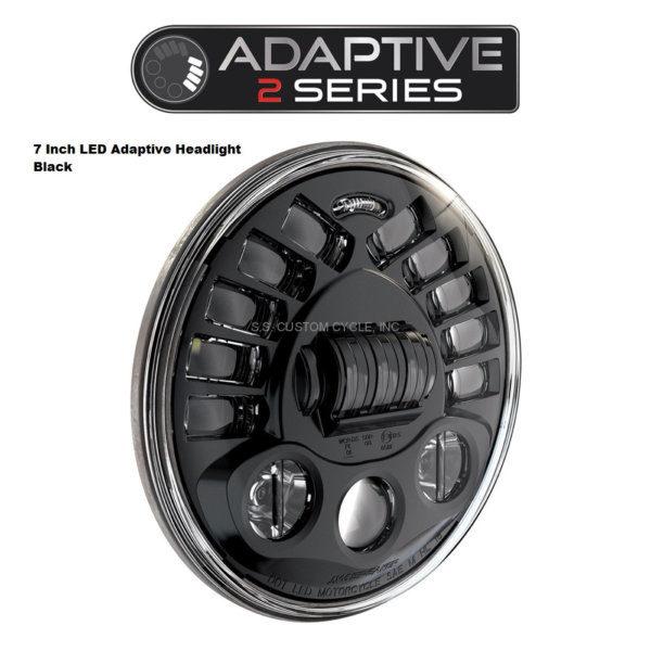 """Adaptive 2 LED 7"""" headlight"""
